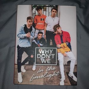 why don't we - in the limelight book